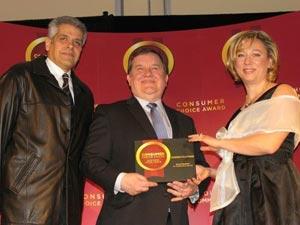 Consumers' Choice Award 2012
